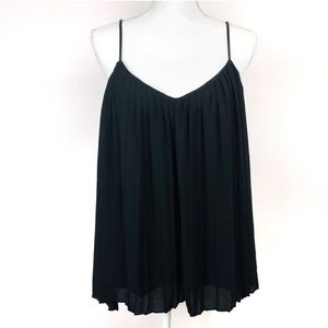 Tops - Express Flowy Black Tank Top Blouse Size Large